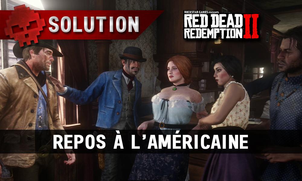 vignette soluce red dead redemption 2 repos à l'américaine