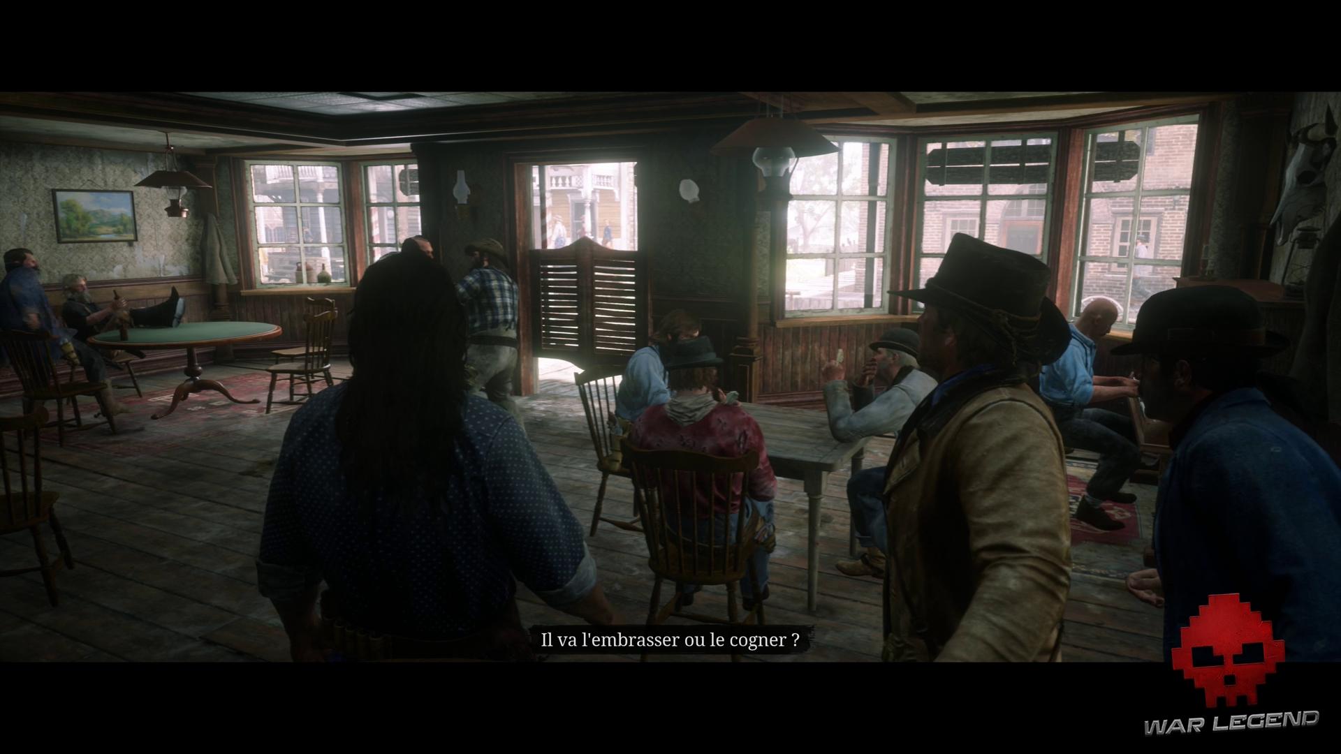 Soluce Red Dead Redemption 2 - Repos à l'américaine une bagarre éclate