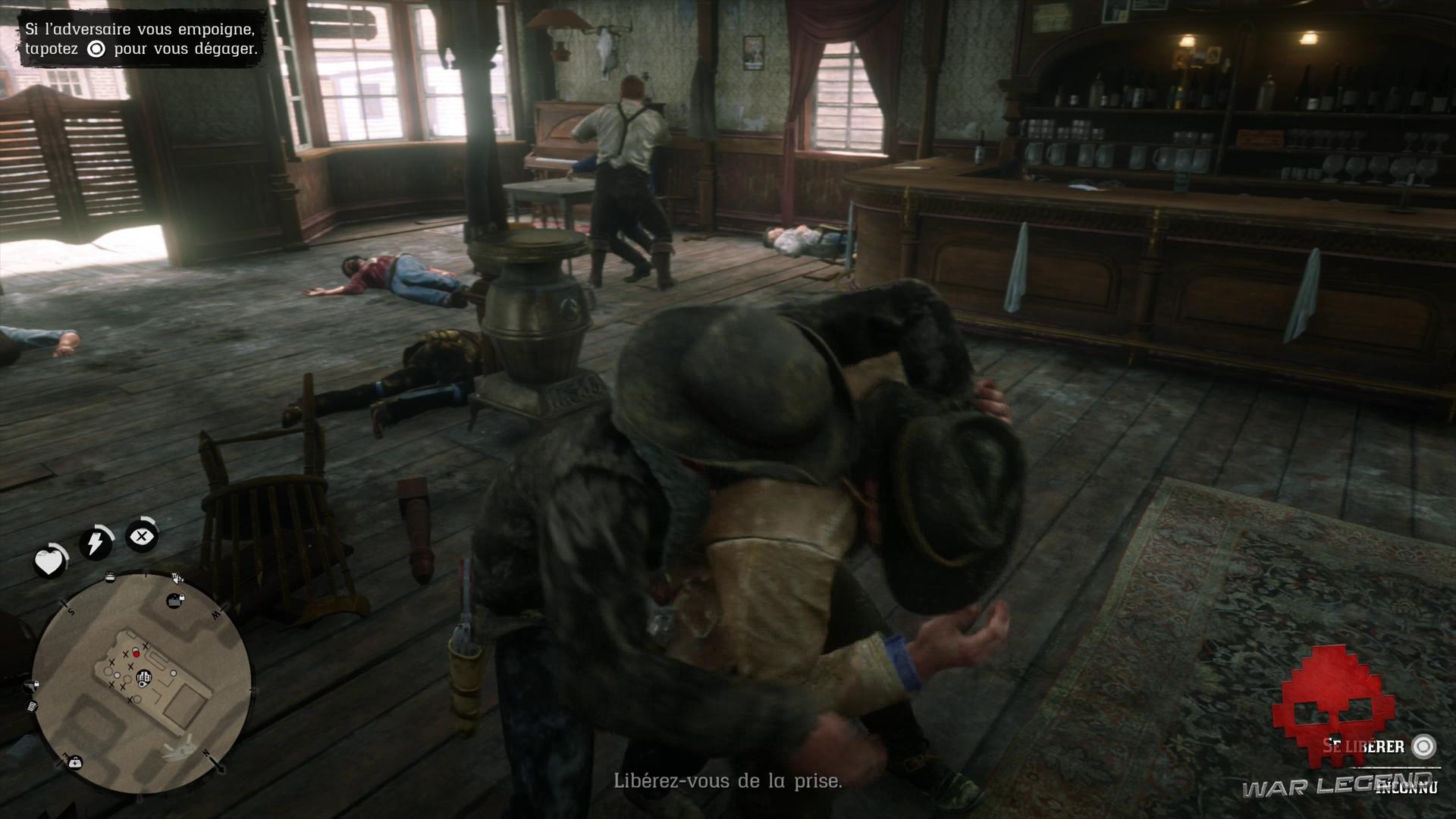 Soluce Red Dead Redemption 2 - Repos à l'américaine Un ennemi enserre Arthur