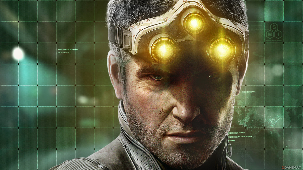 Splinter Cell Blacklist portrait sam fisher