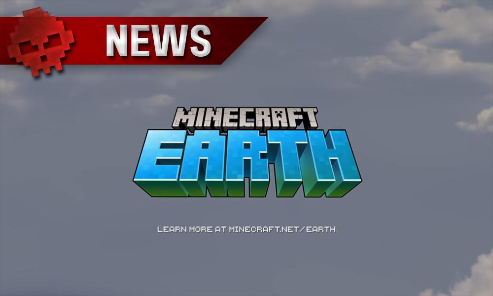 Minecraft earth vignette