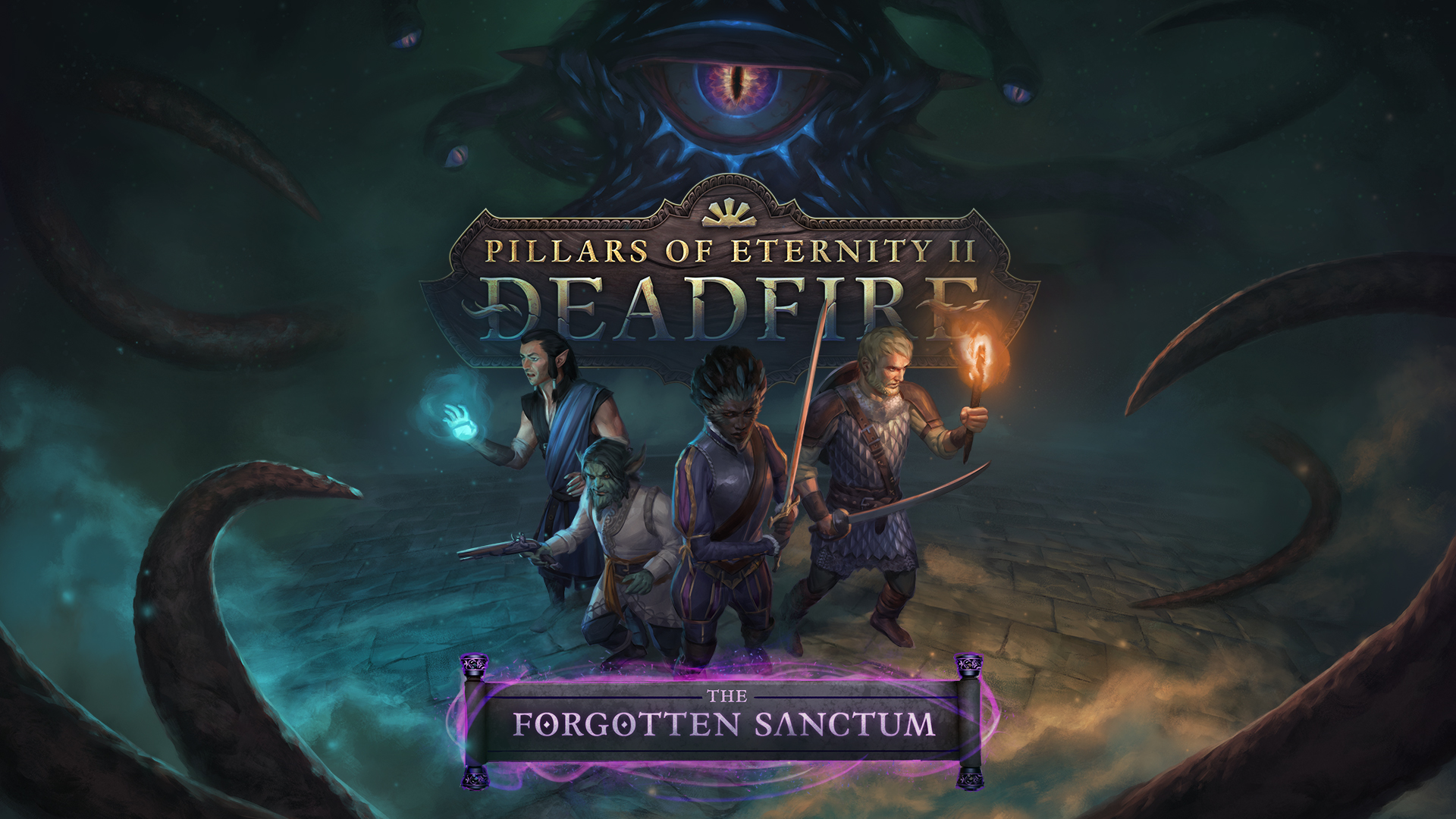 visuel de Pillars of Eternity 2: Deadfire, The Forgotten Sanctum