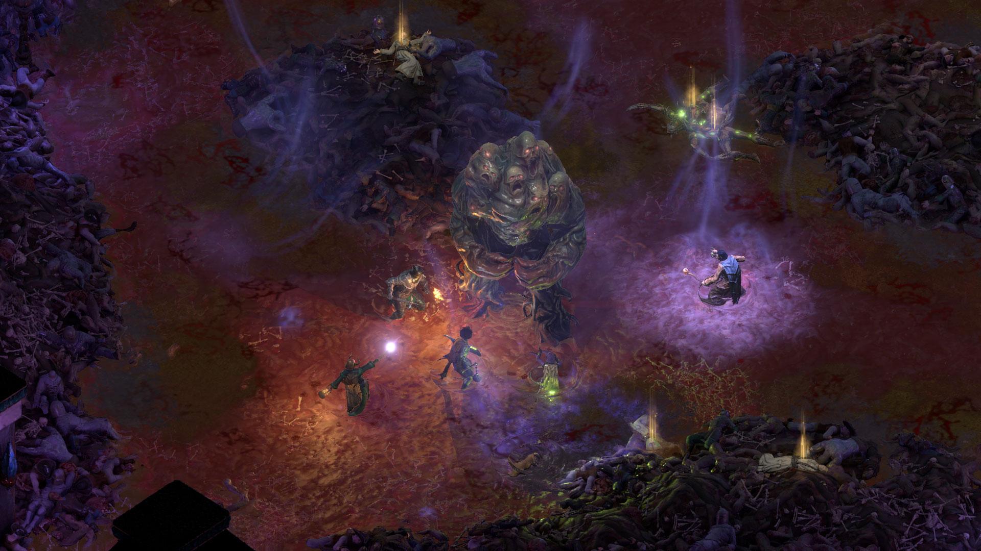 Screenshot à l'intérieur du dieu endormi de Pillars of Eternity 2: Deadfire