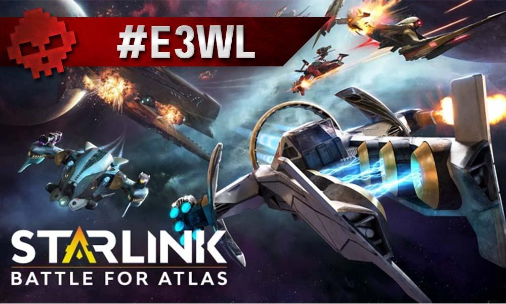 Plusieurs vaisseaux de Starlink dans l'expace