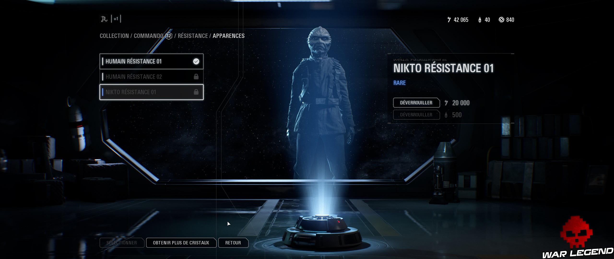 ReTest Star Wars Battlefront II skin rebelle