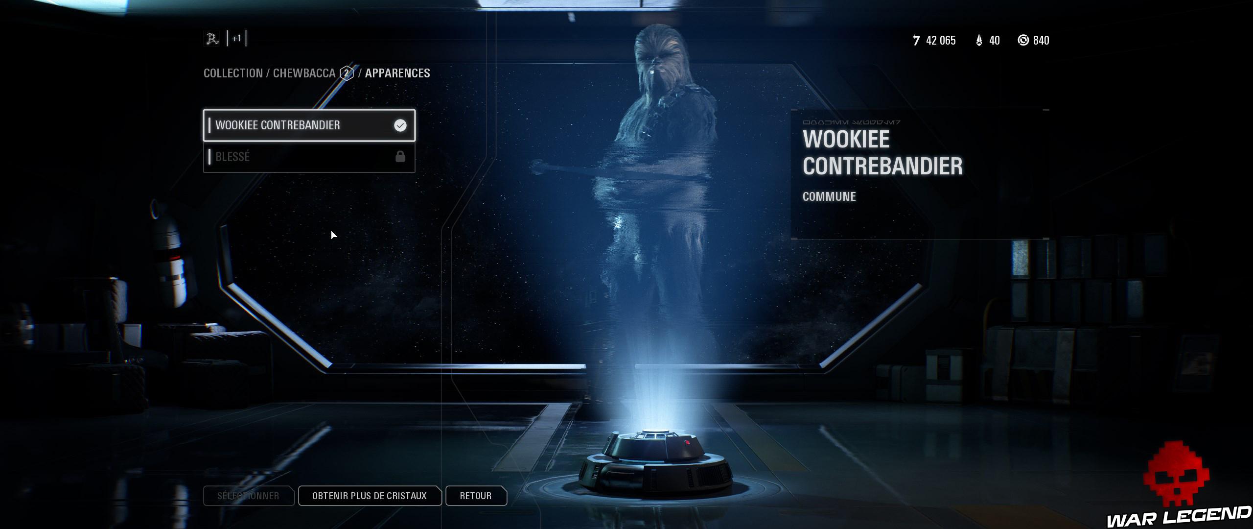 ReTest Star Wars Battlefront II skin chewbacca