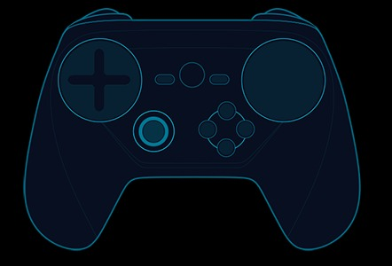 steam controller new design blue print