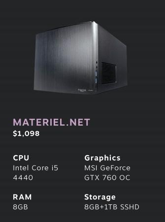 steam machine materiel net