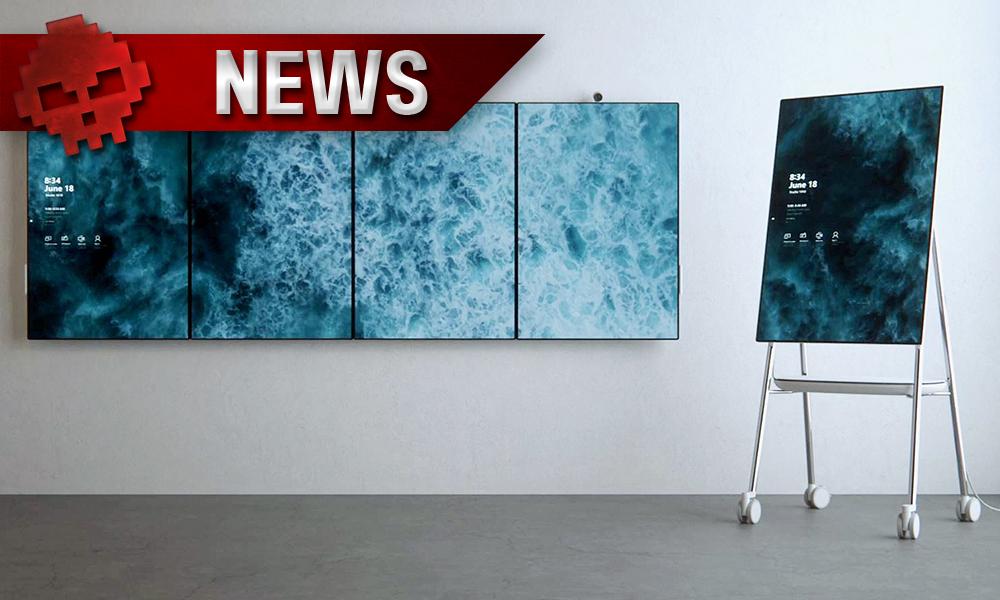 Microsoft Surface Hub 2 Vignette News