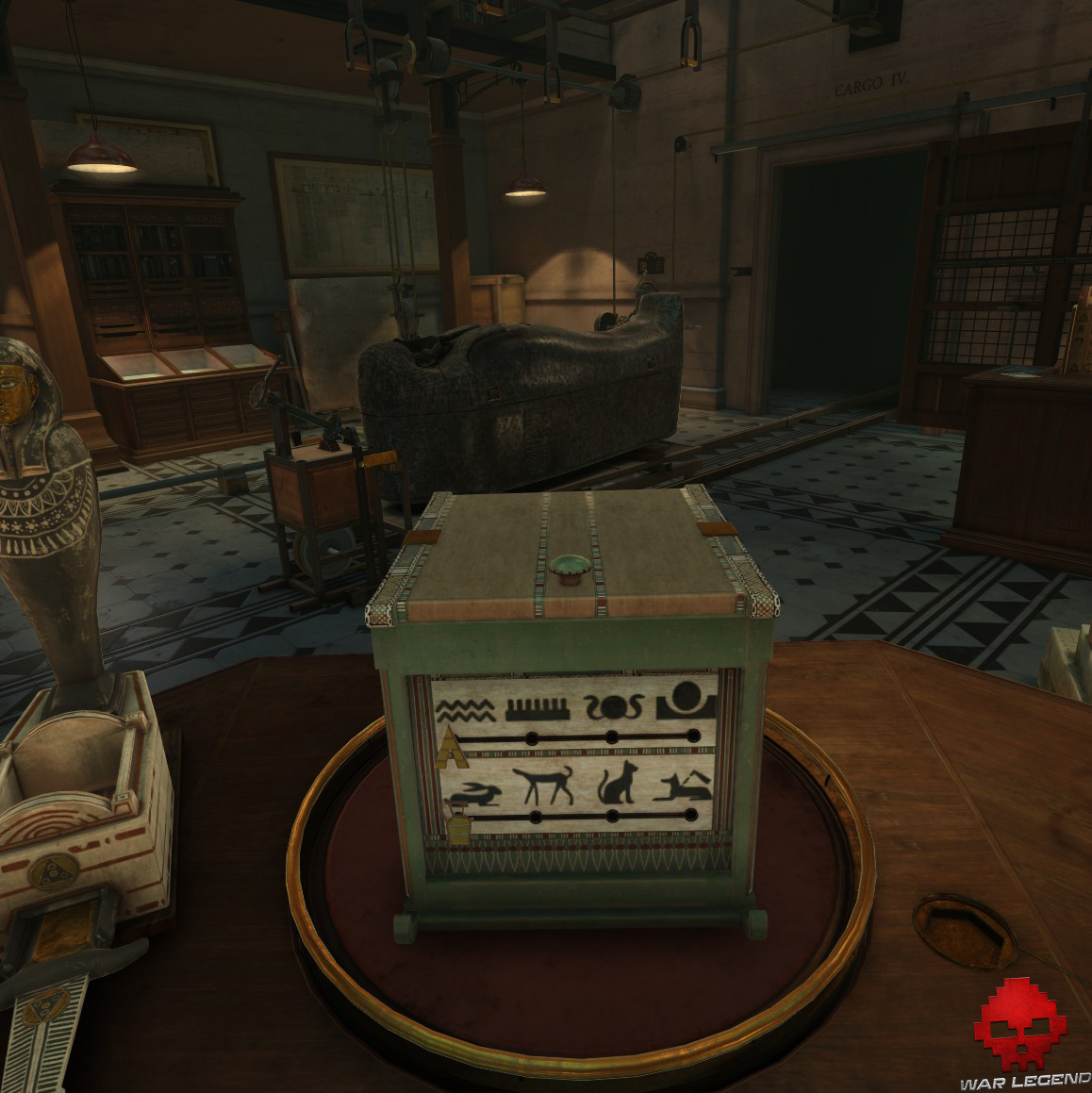 The Room VR: A Dark Matter - boîte égyptienne