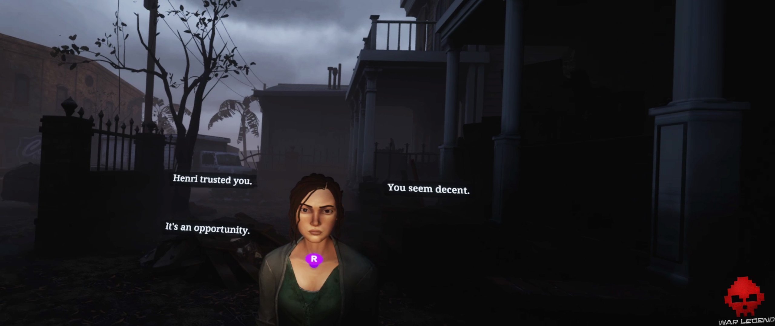 test the walking dead saints & sinners - choix dialogue