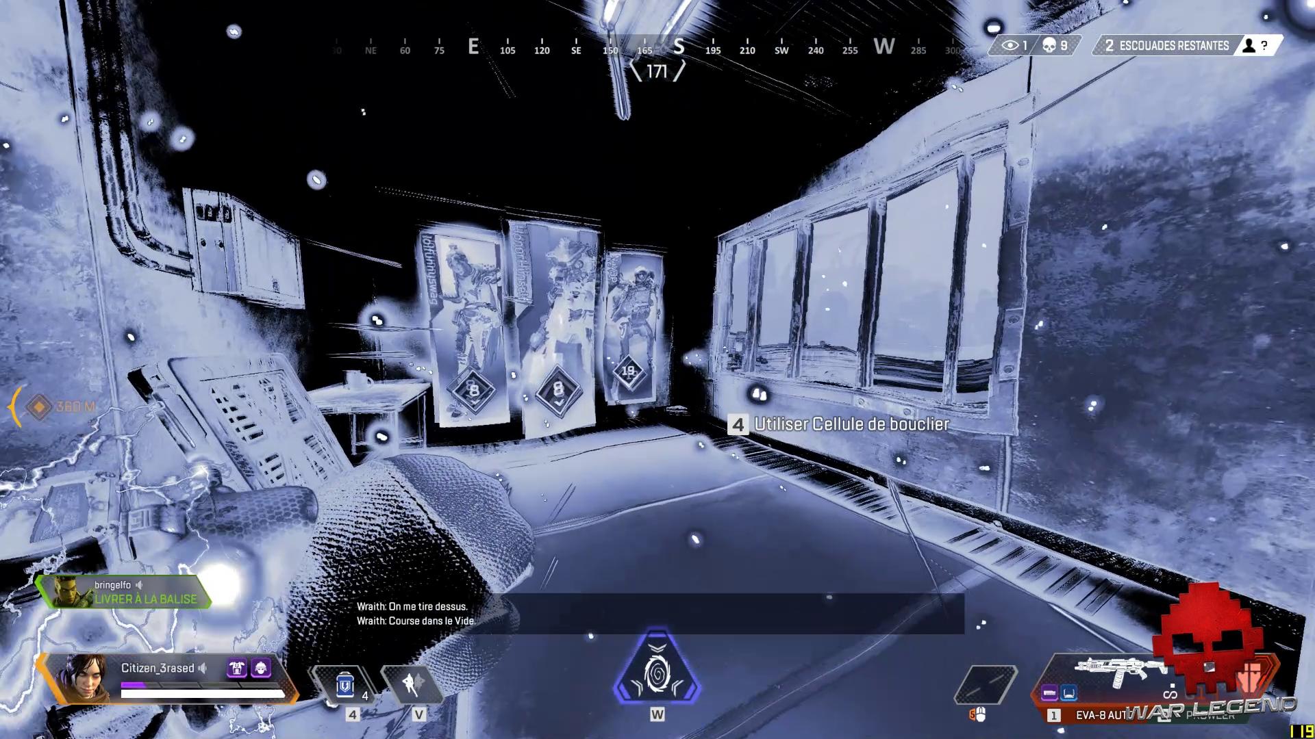 Test Apex Legends - Wraith utilise Dans le vide