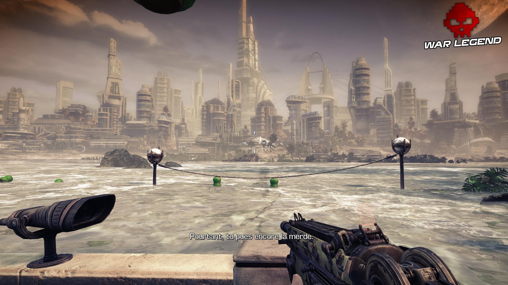 Test Bulletstorm: Full Clip Edition - métropole sur eau