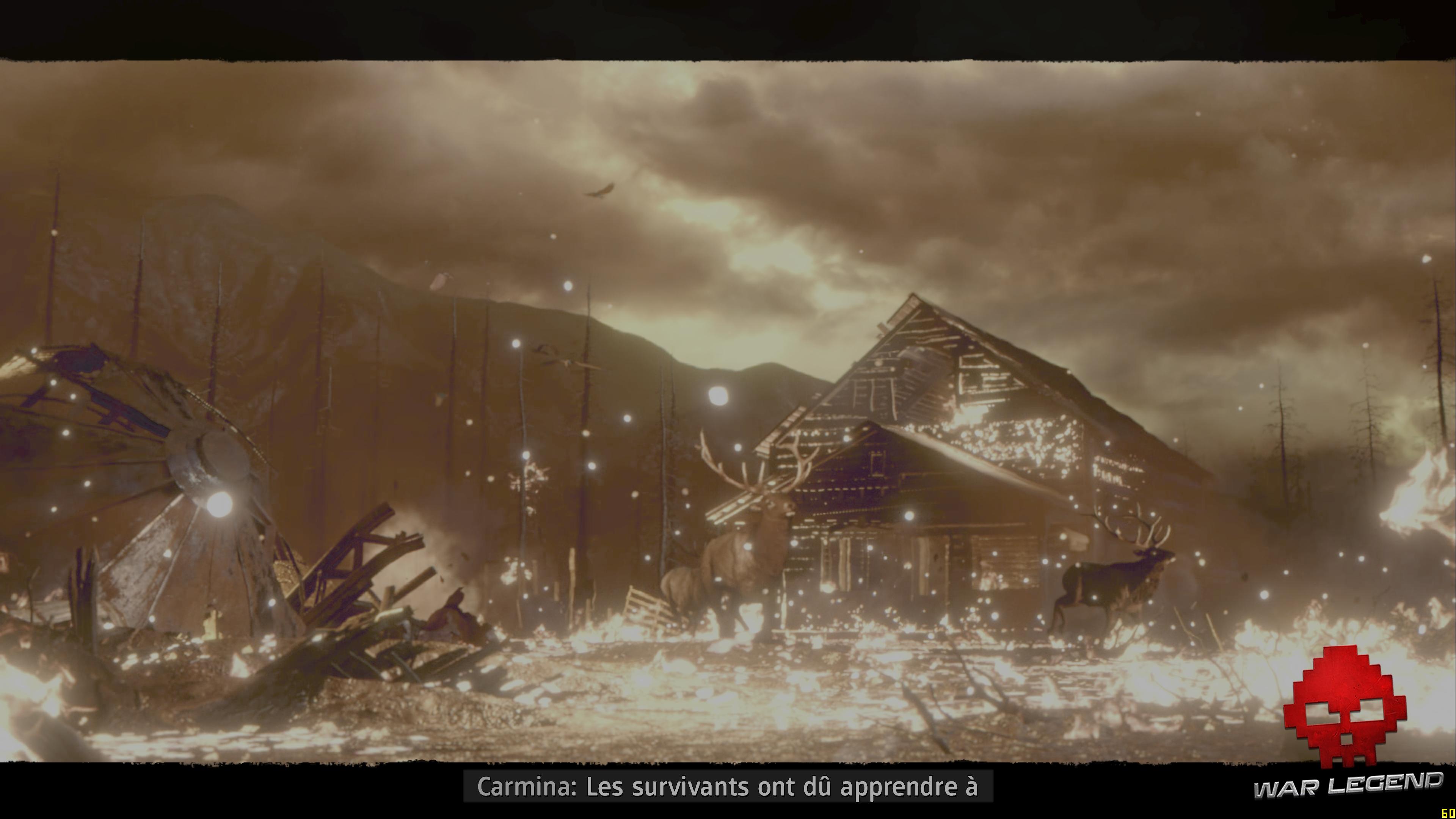 Test Far Cry: New Dawn - Maison en flamme