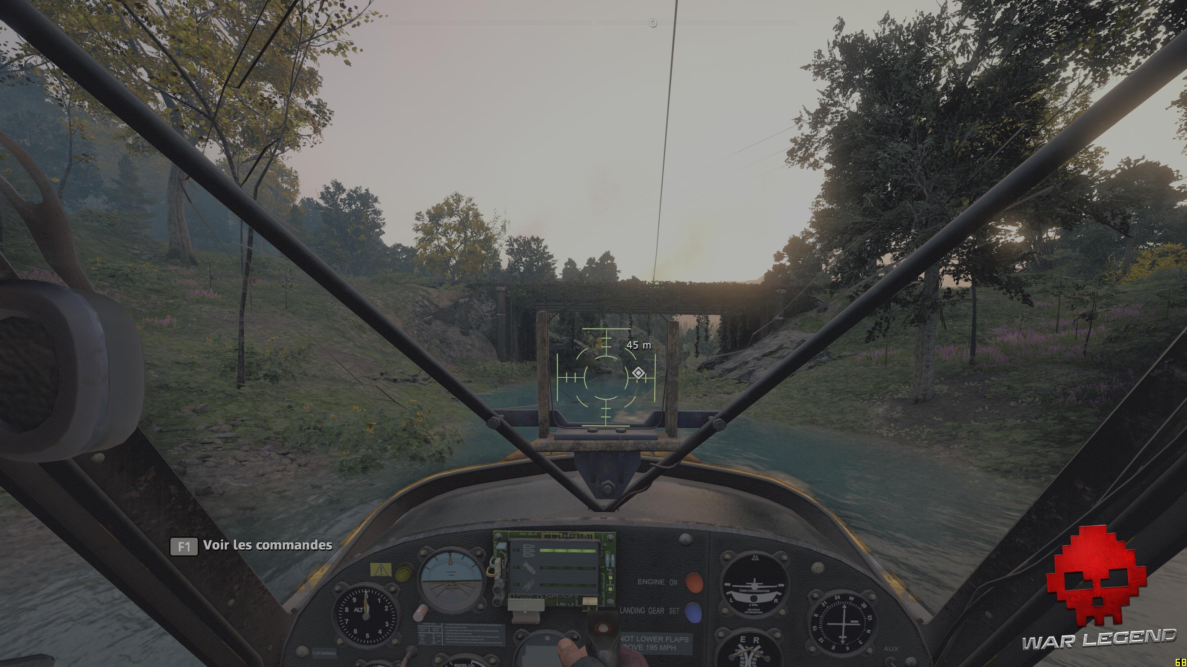 Test Far Cry: New Dawn - pilotage de l'hydravion