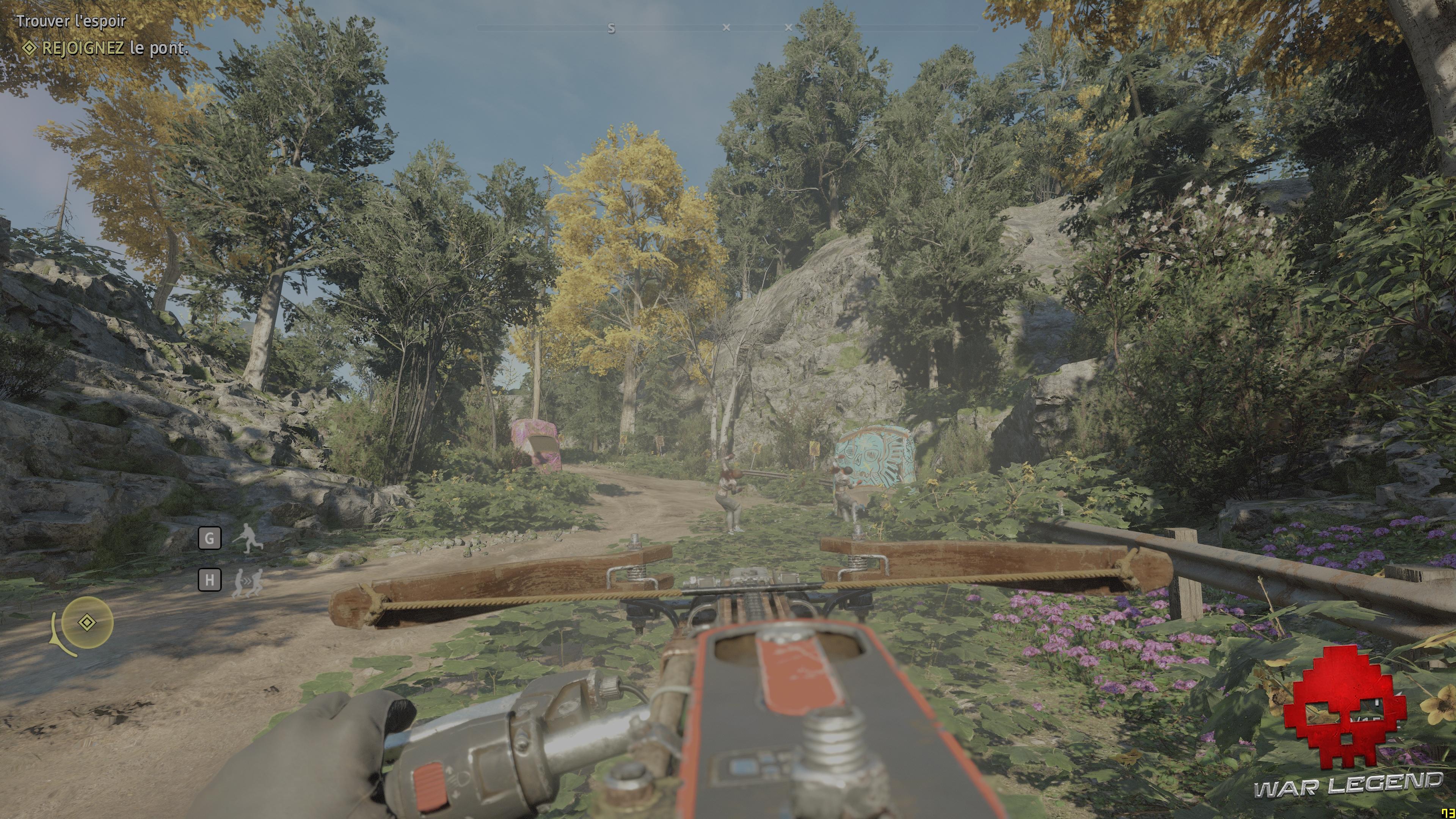 Test Far Cry: New Dawn - Le lance-scie