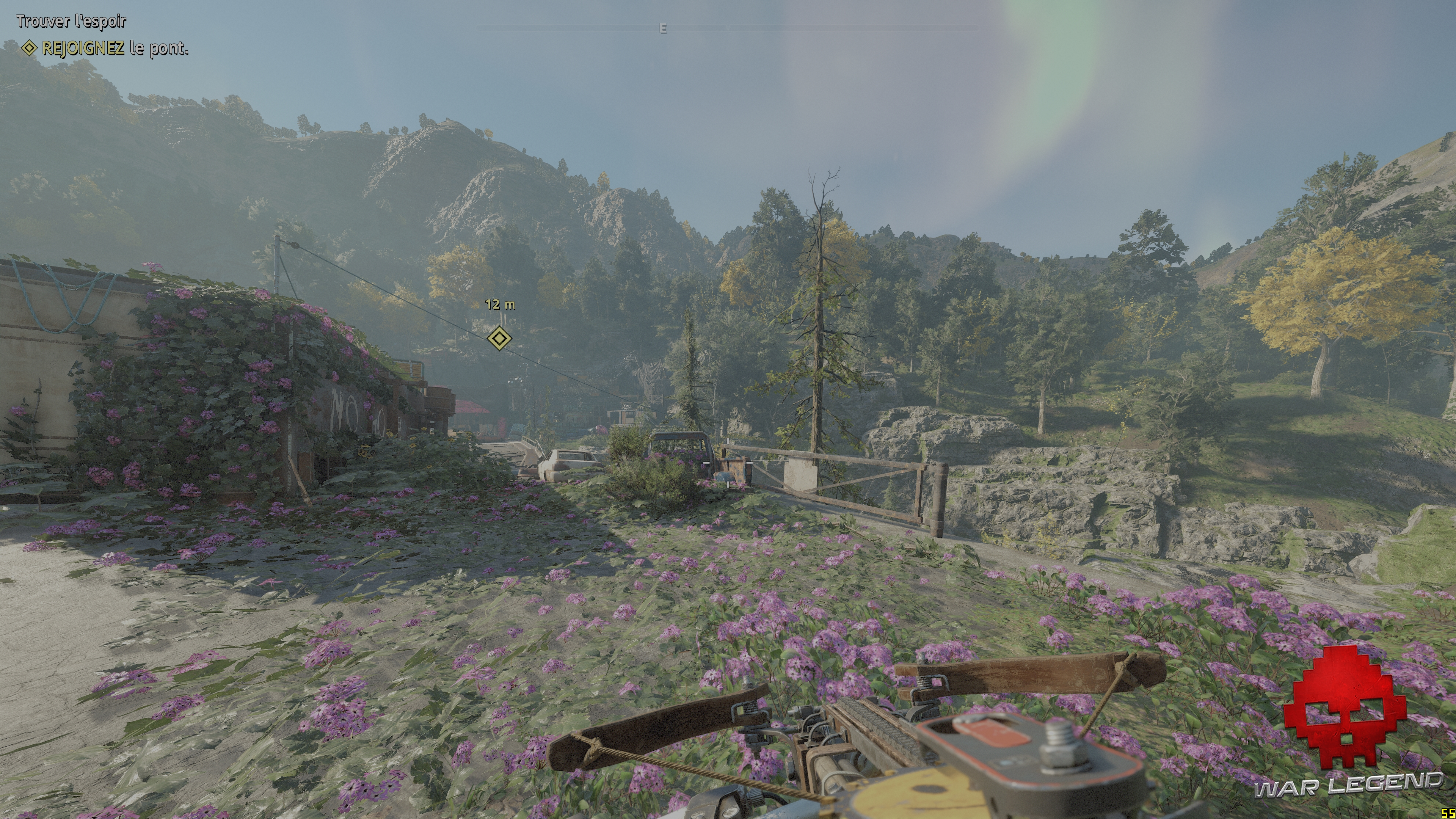 Test Far Cry: New Dawn - Panorama de fleurs