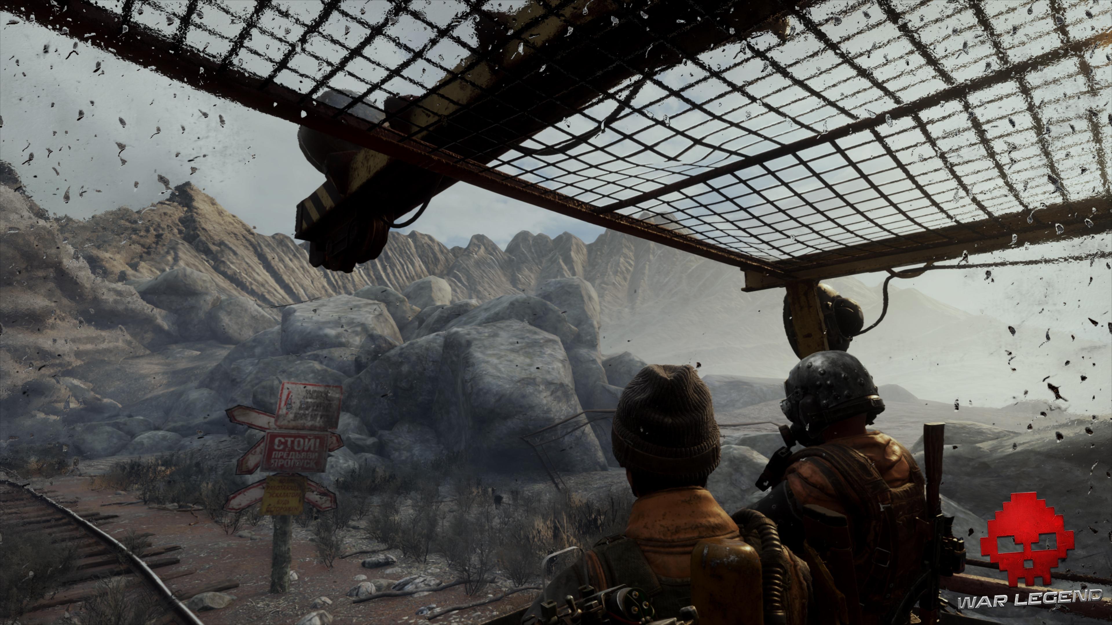 Test Metro Exodus - Un cratère de bombe nucléaire