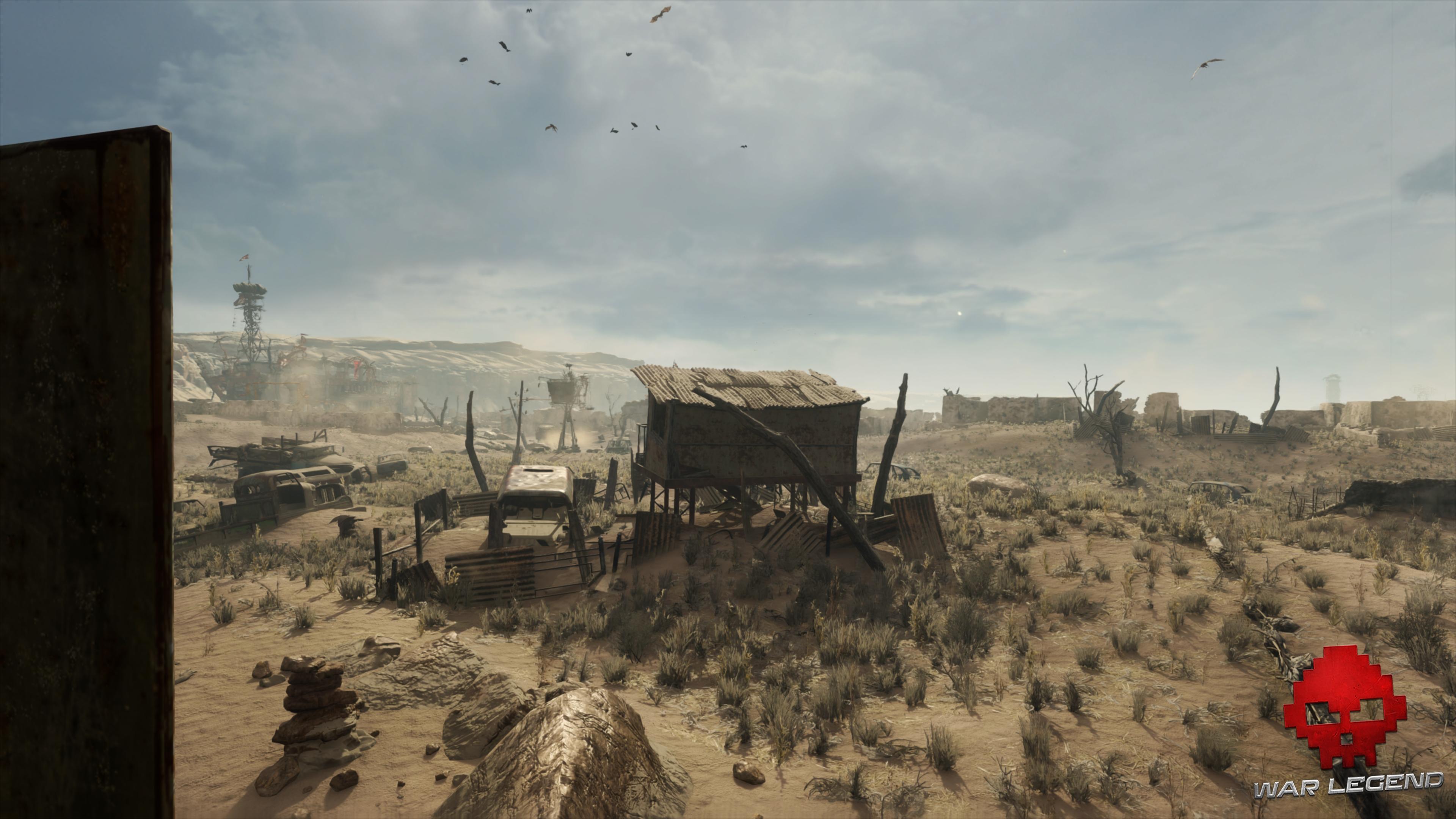Test Metro Exodus - Le désert