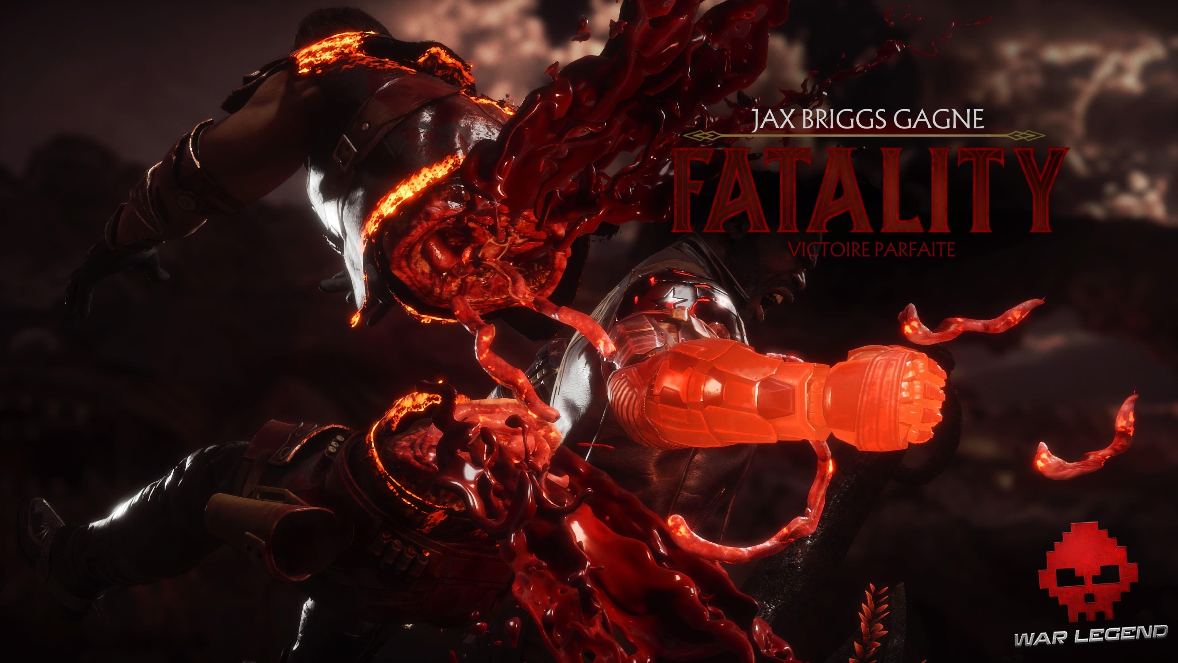 Test Mortal Kombat 11 - Fatality de Jax Briggs