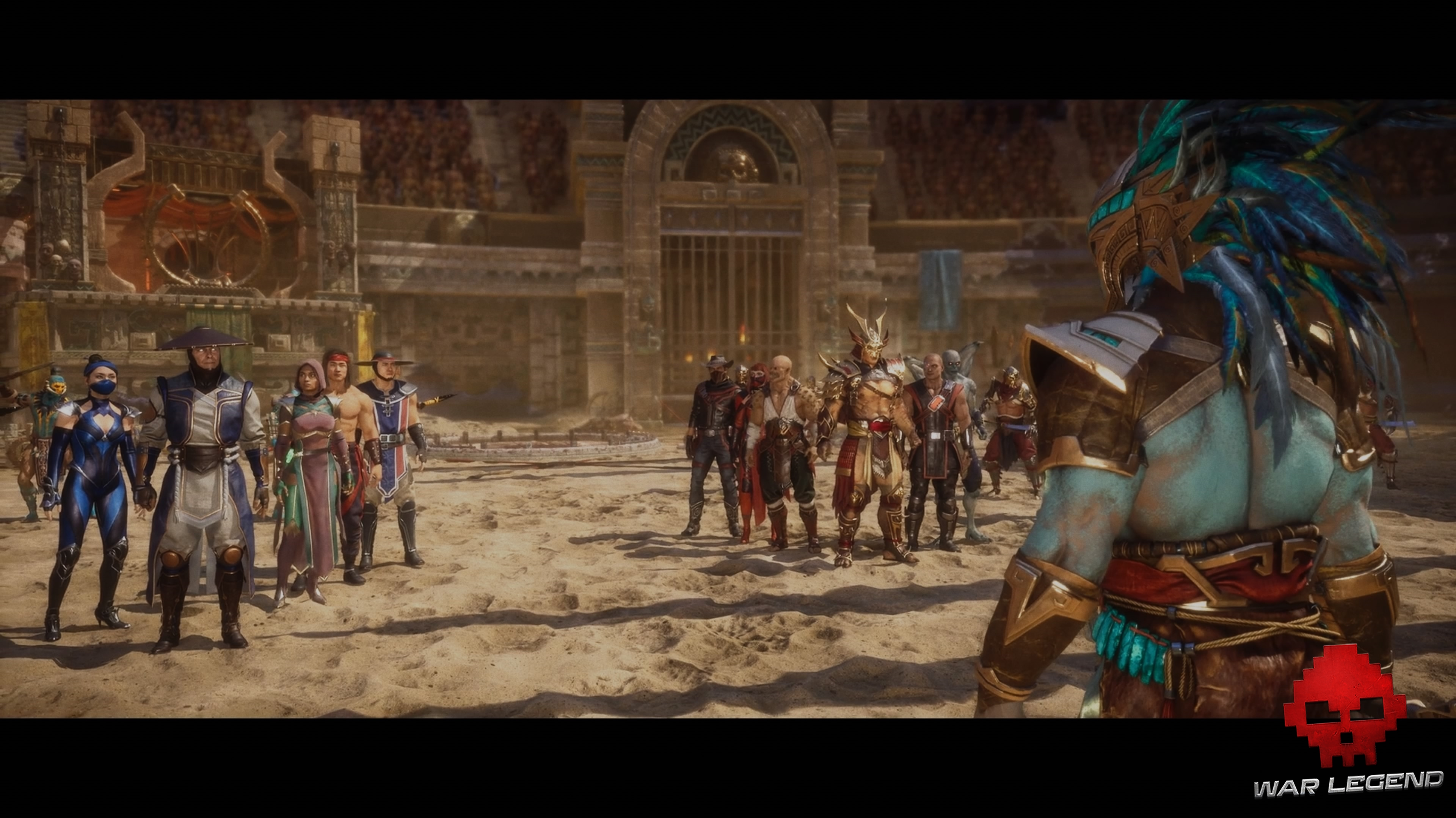Test Mortal Kombat 11 - Des personnages du passé