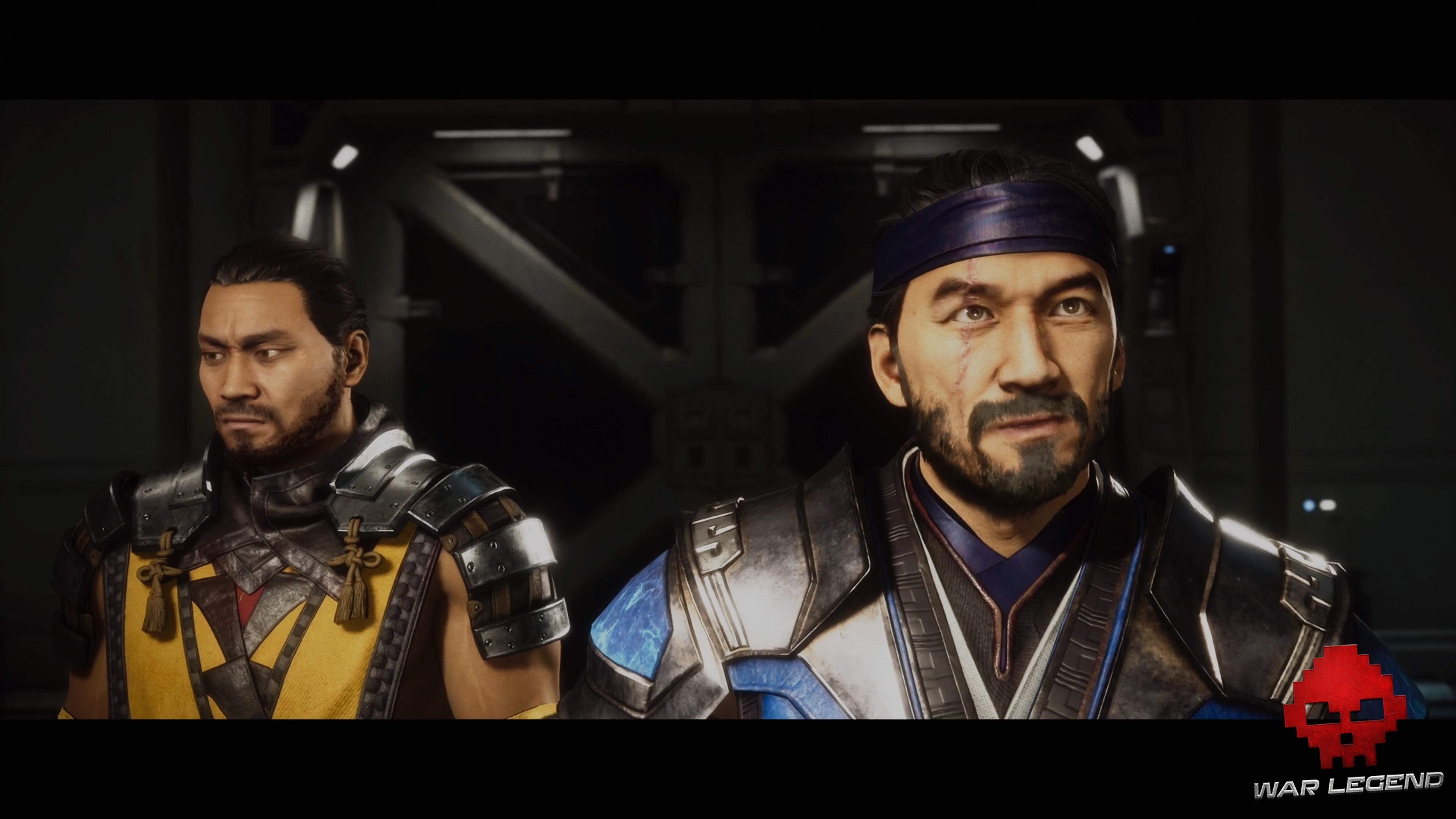 Test Mortal Kombat 11 - Scorpion et Sub-Zero