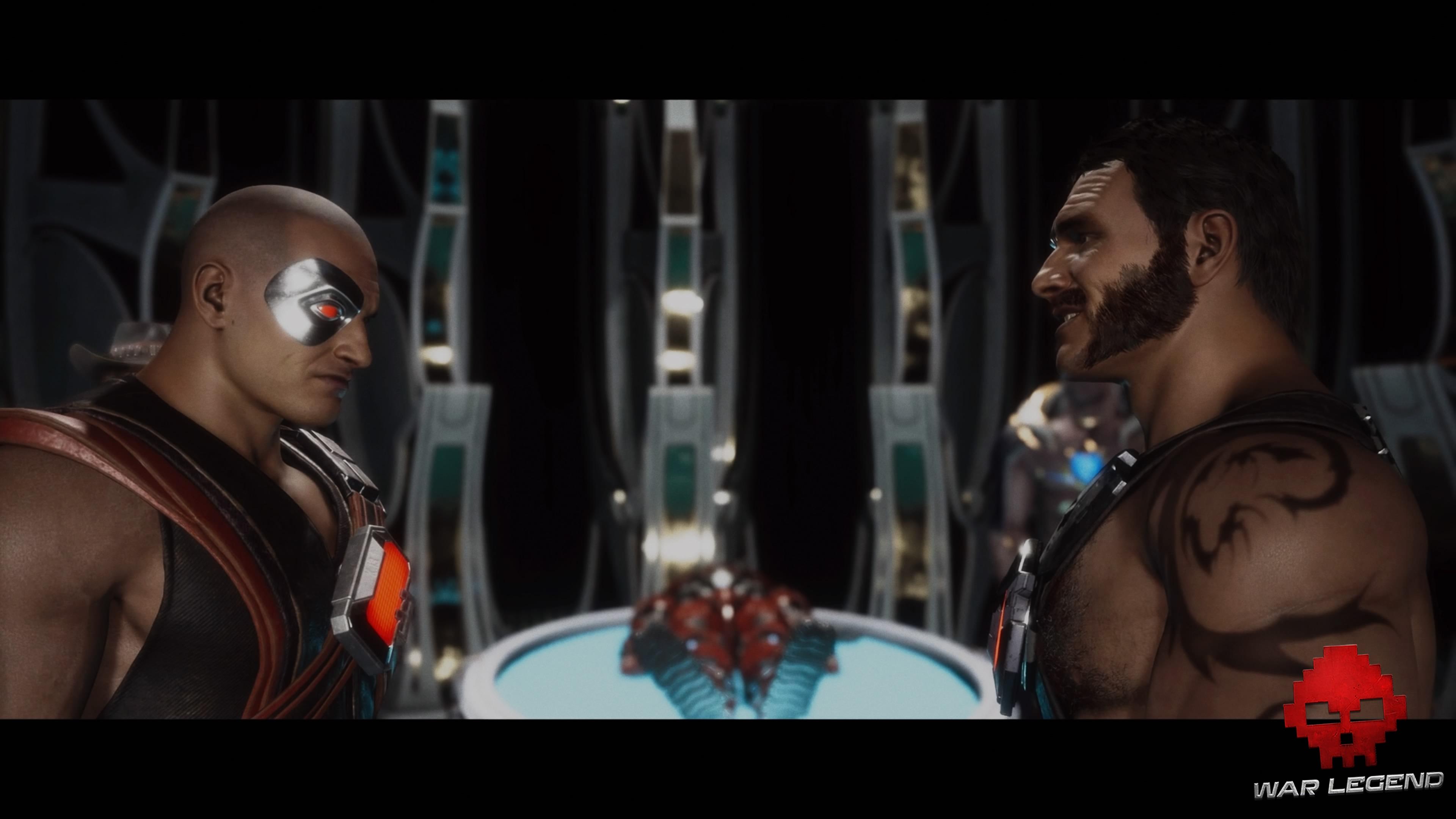 Test Mortal Kombat 11 - Kano jeune et du présent