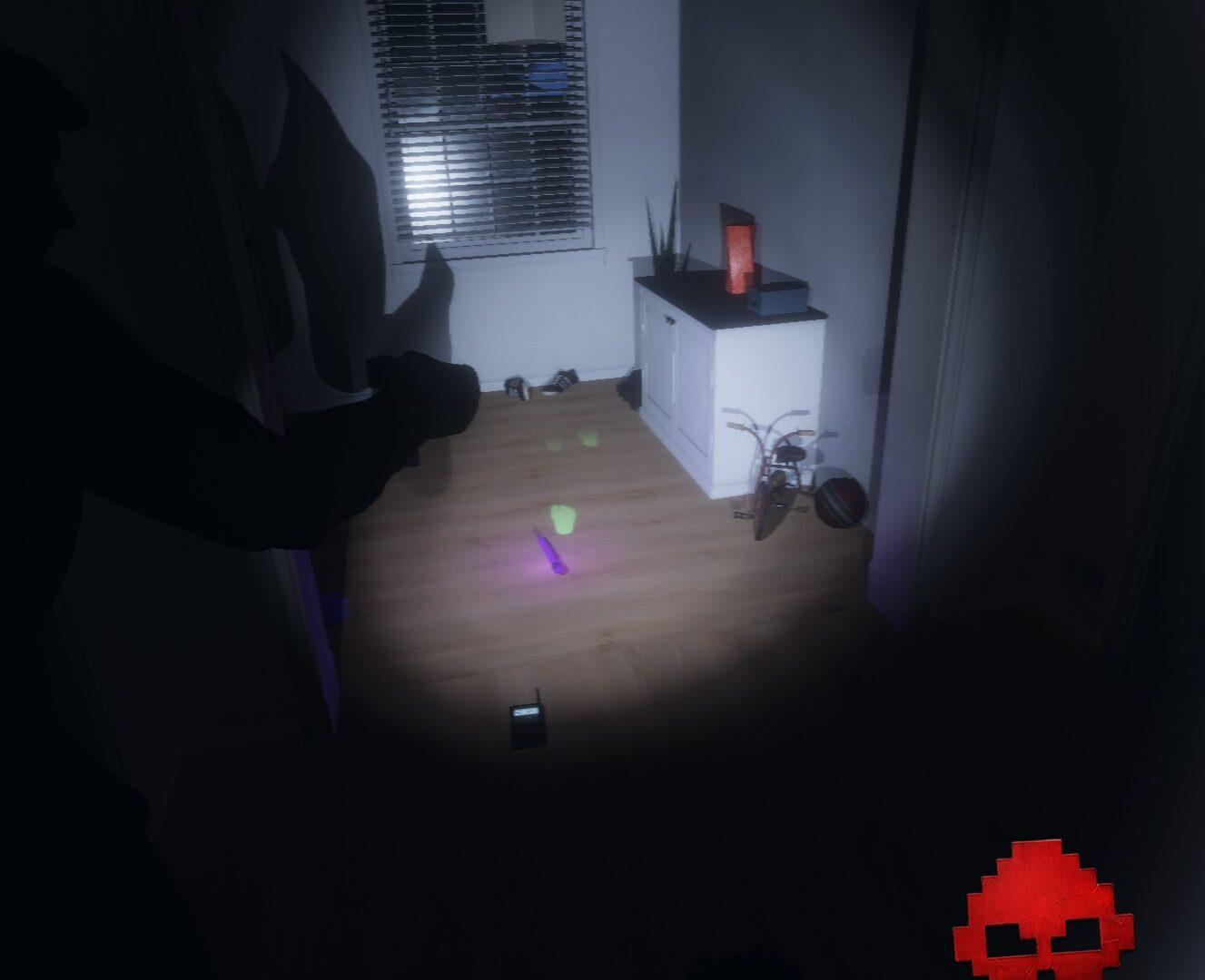 Certains fantômes marchent au sol, d'autres non.