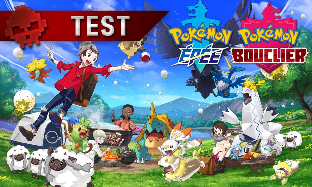 Test Pokémon Épée & Bouclier - vignette