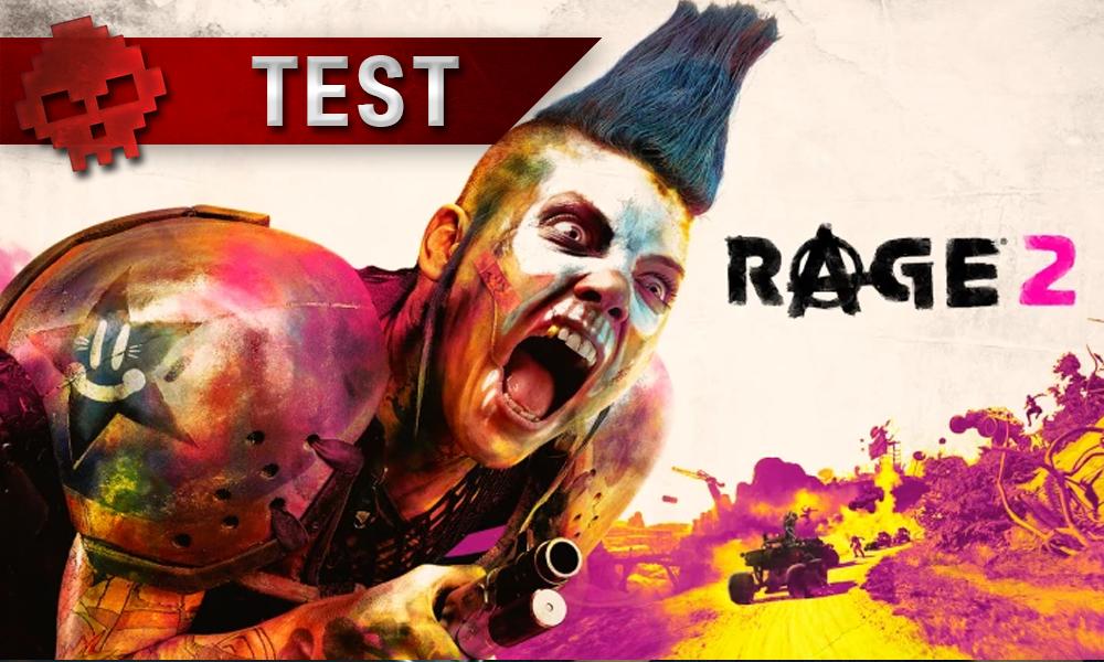 Test RAGE 2 - Vignette Test