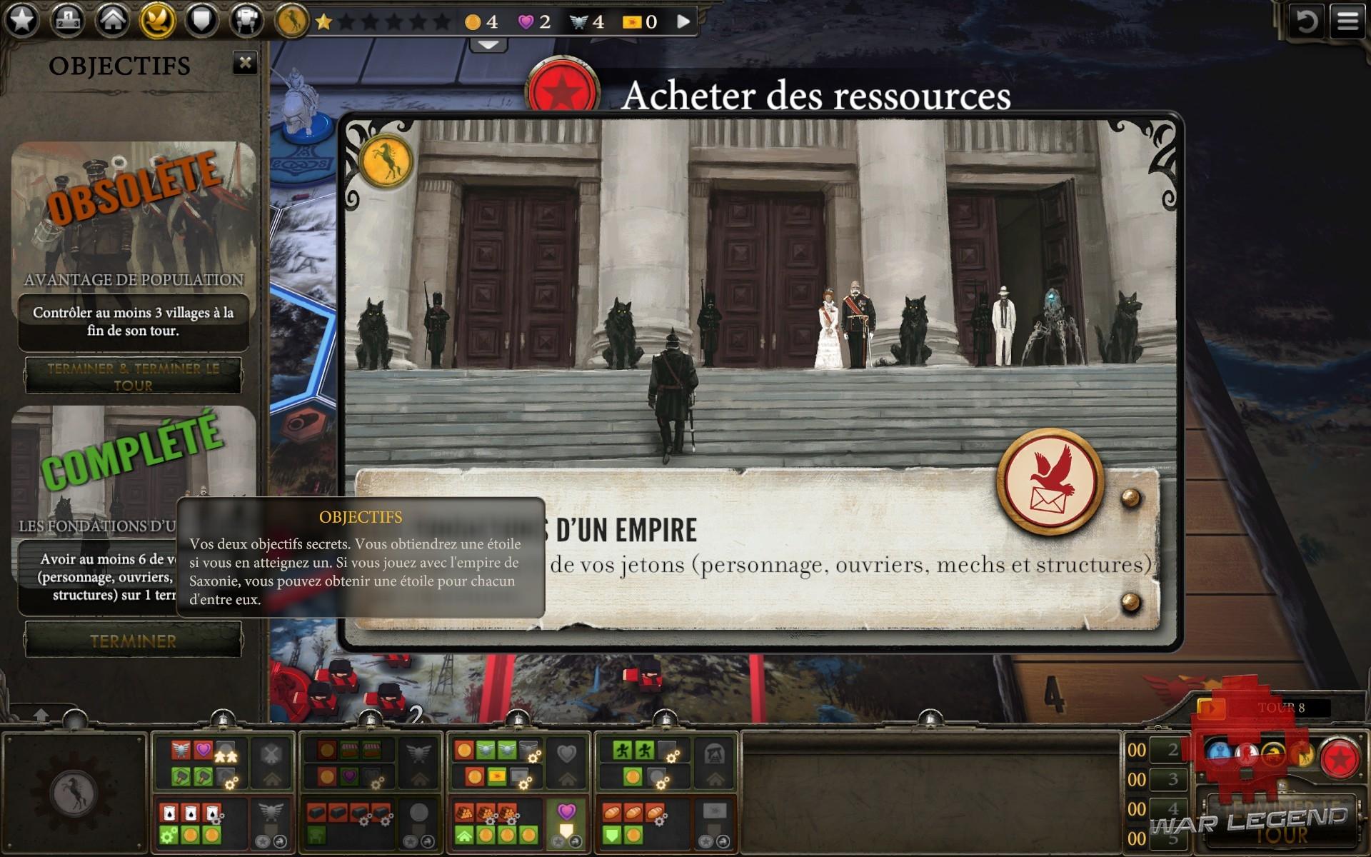 test Scythe: Digital Edition objectif secret complété