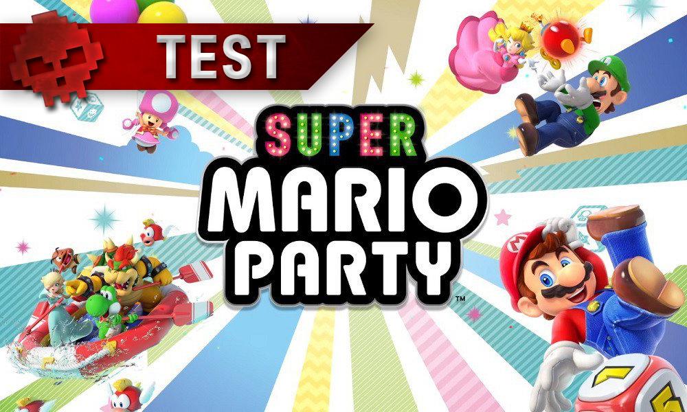 Test Super Mario Party vignette