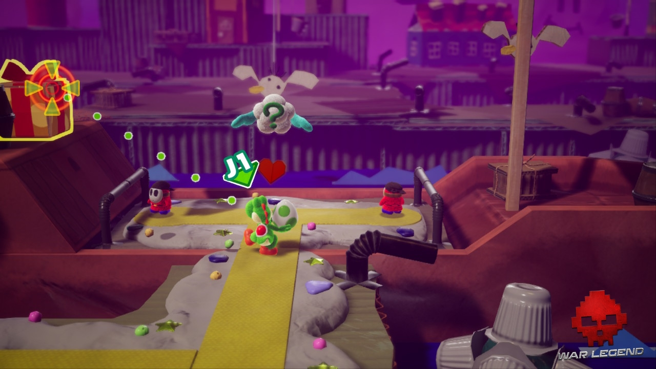 Test Yoshi's Crafted World - gestion de la profondeur