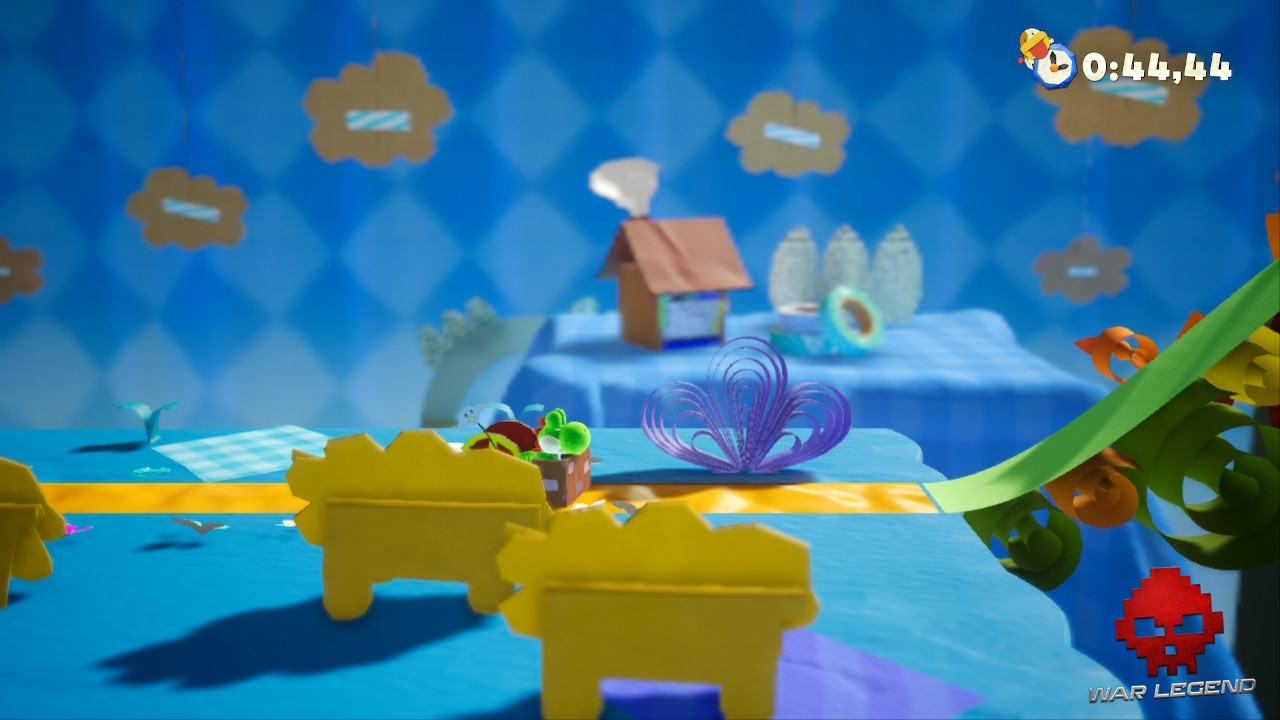 Test Yoshi's Crafted World - L'envers du décor