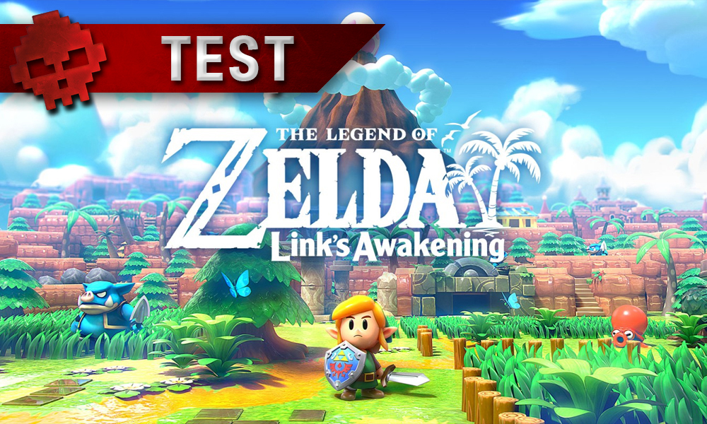 vignette test the legend of zelda: link's awakening