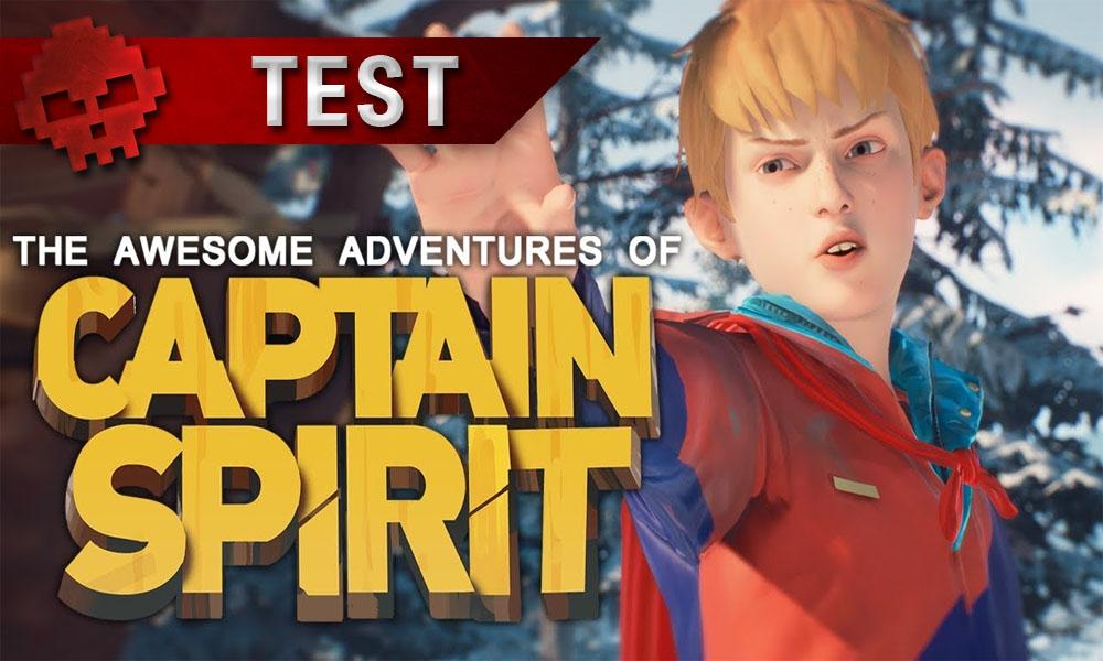 Test de Captain Spirit