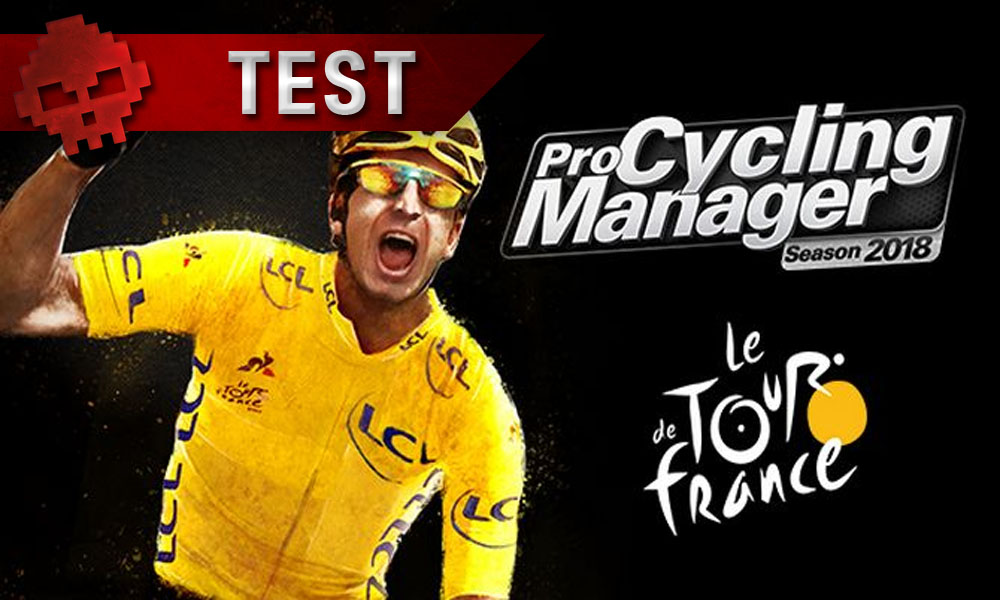 Test Pro Cycling manager 2018