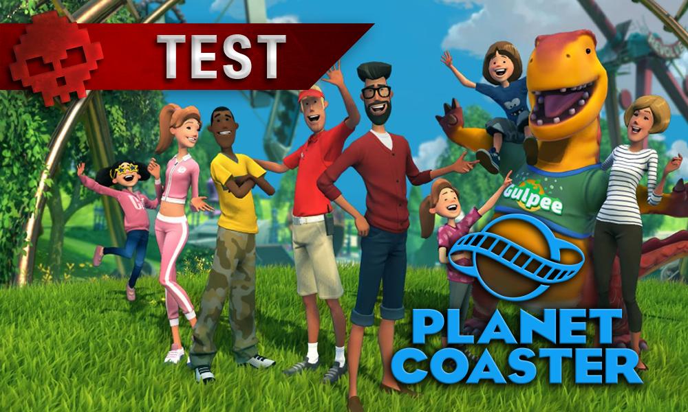 Test Planet Coaster - Quand la modernité transcende un vieux genre
