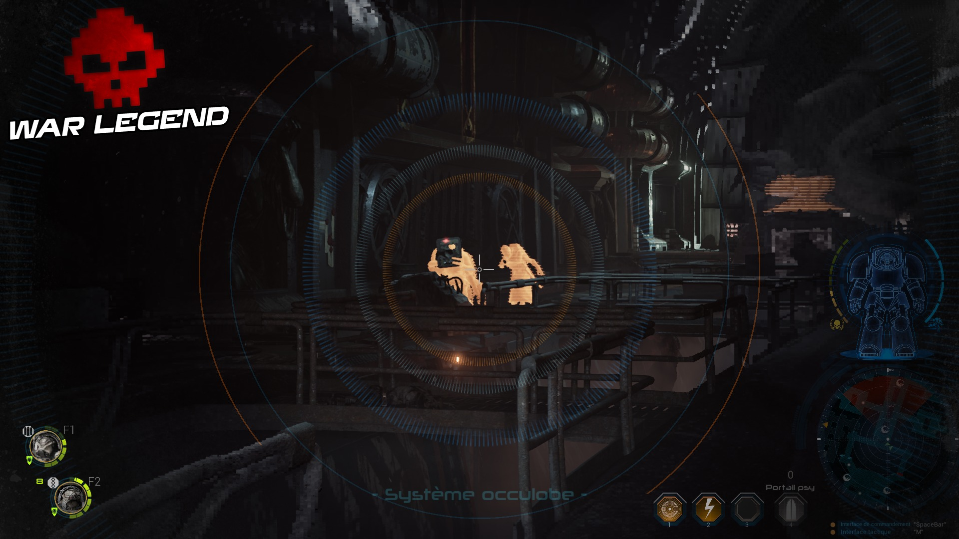 Test Space Hulk: Deathwing zoom Bolter