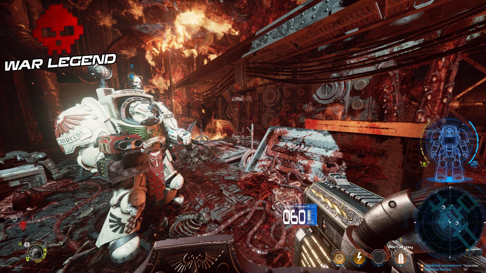 Test Space Hulk: Deathwing Nest Destroyed