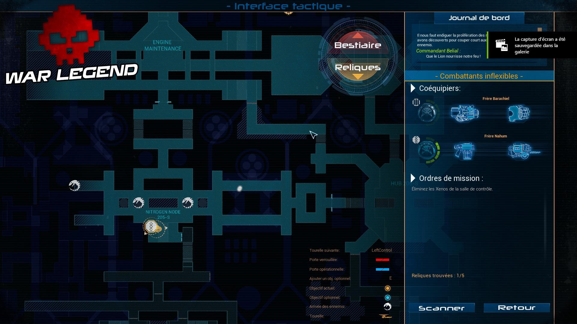 Test Space Hulk: Deathwing Tac Map