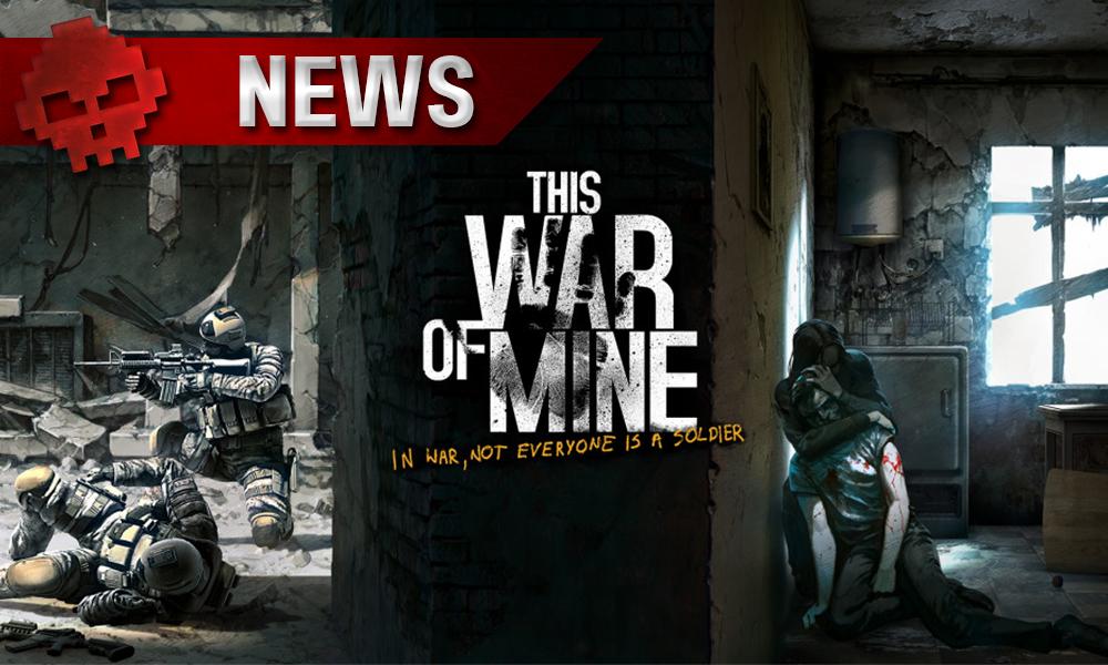 This War of Mine, un mur sépar des soldats de simples survivants