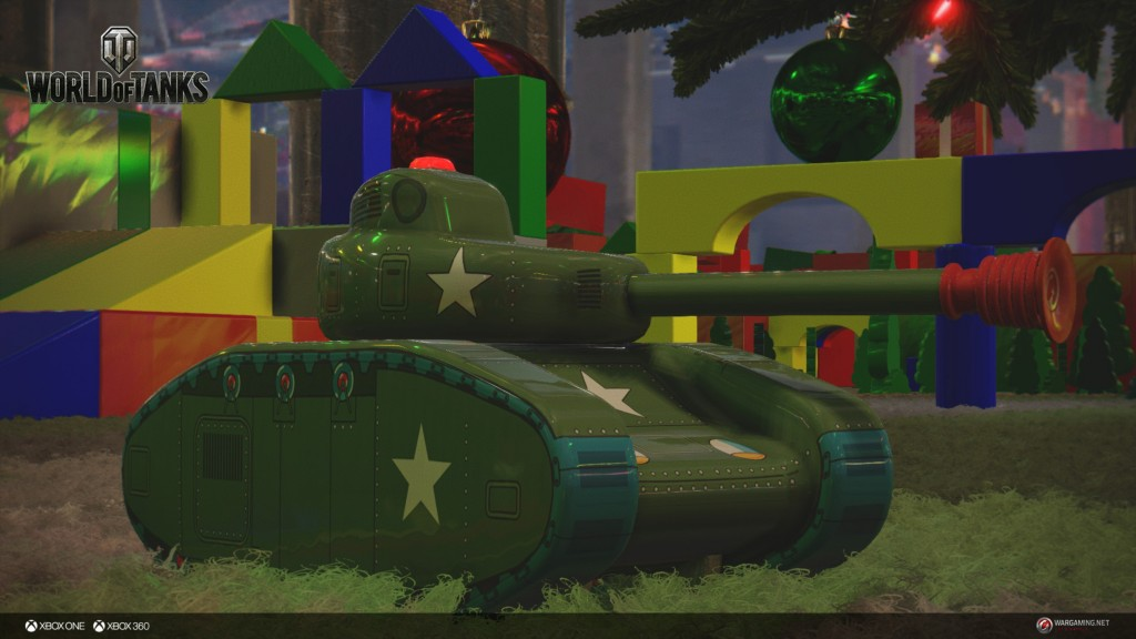 toy tank mode