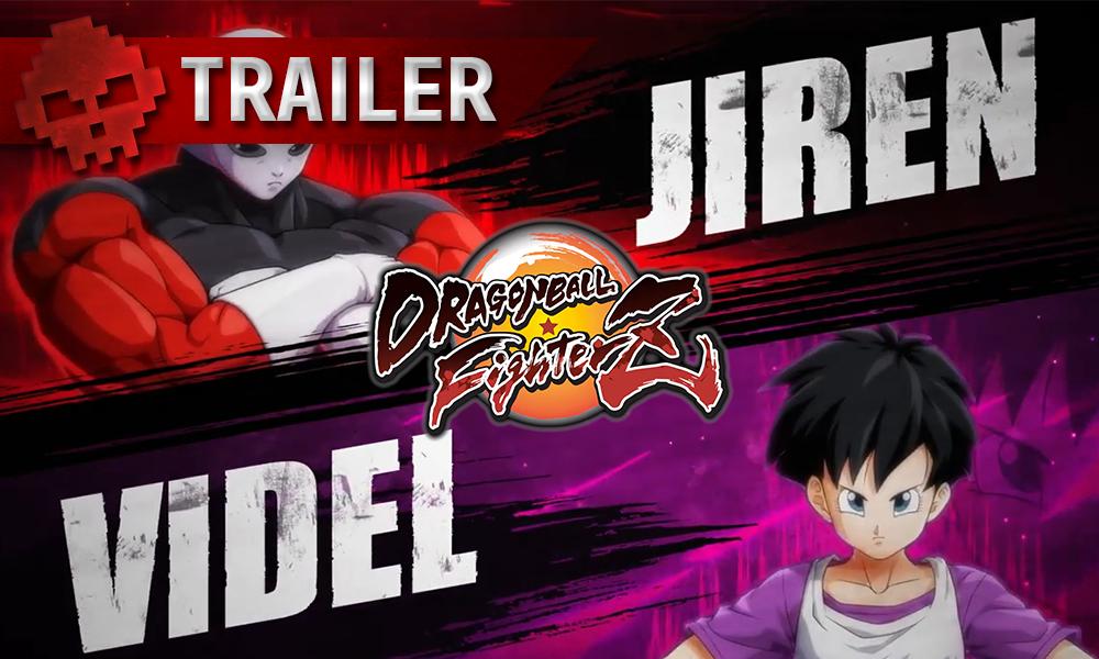 vignette trailer Draon Ball FighterZ Jiren Videl