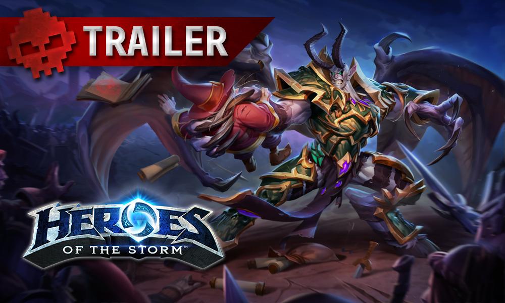 vignette trailer Heroes of the Storm Mal'Ganis