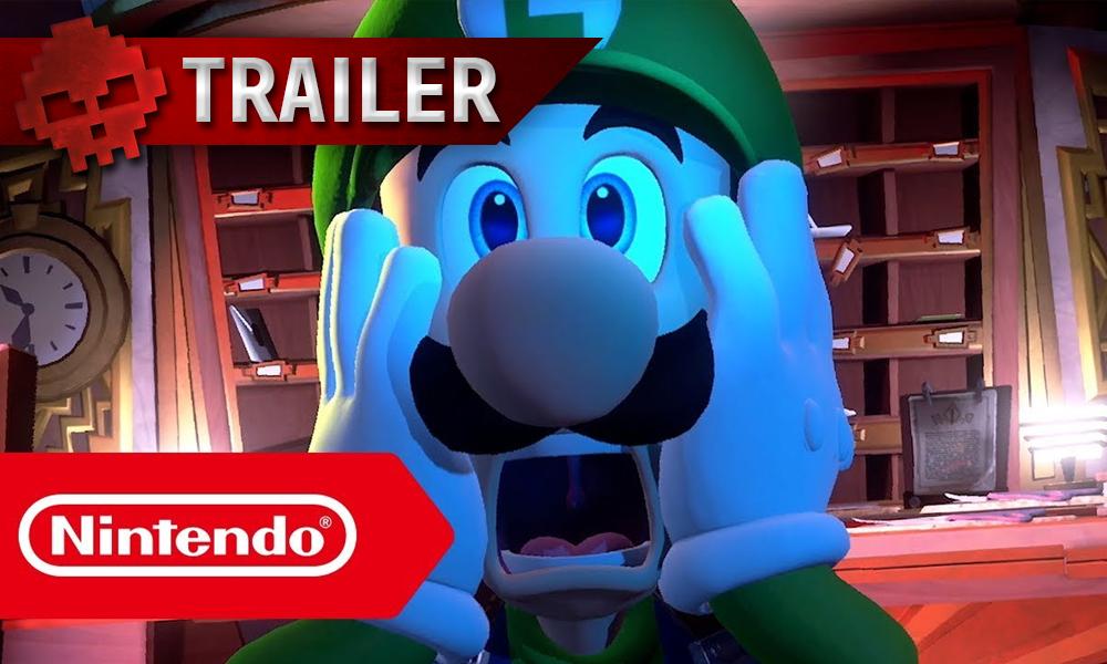 vignette trailer Luigi's Mansion 3