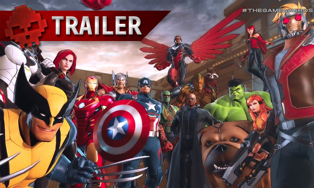 vignette trailer Marvel Ultimate Alliance 3