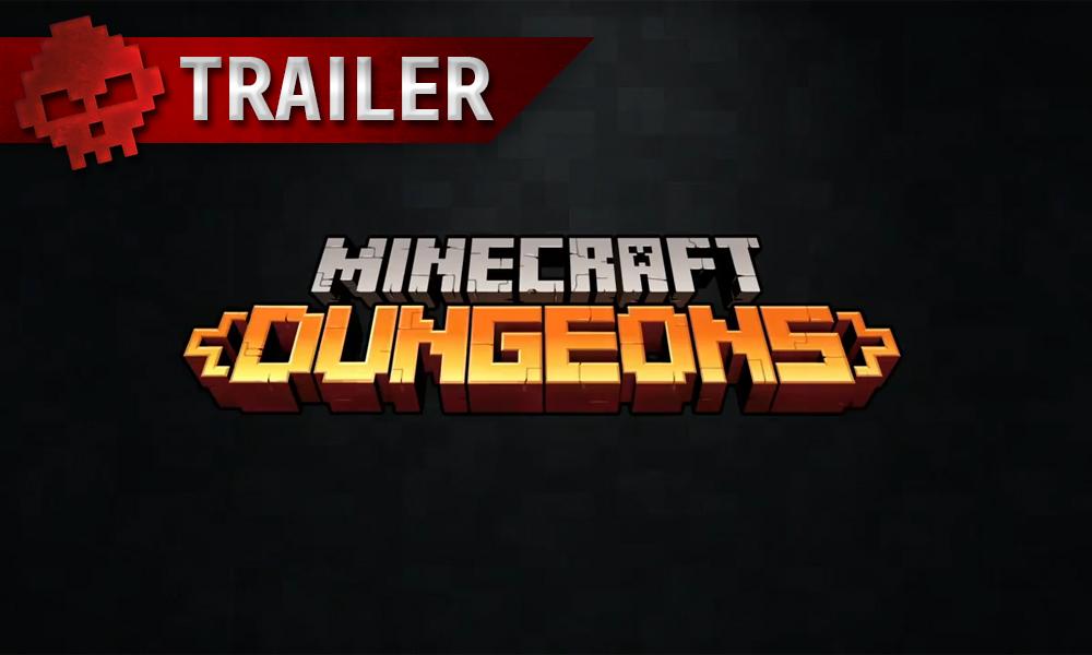 vignette trailer Minecraft Dungeons