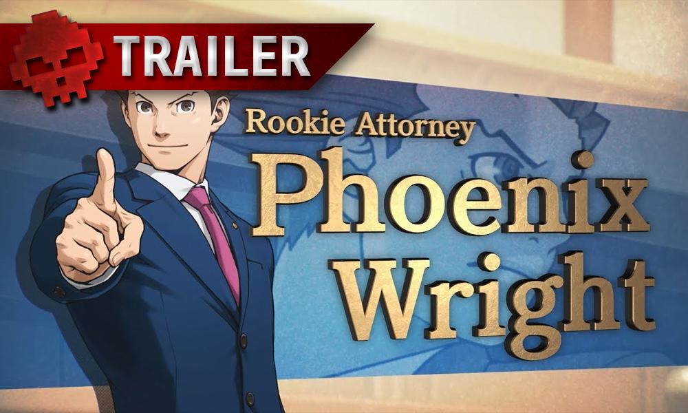 vignette trailer Phoenix Wright Ace Attorney Trilogy