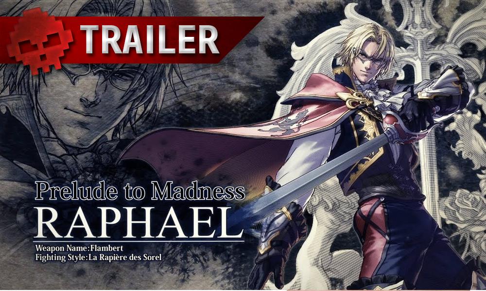 vignette trailer SoulCalibur 6 Raphael